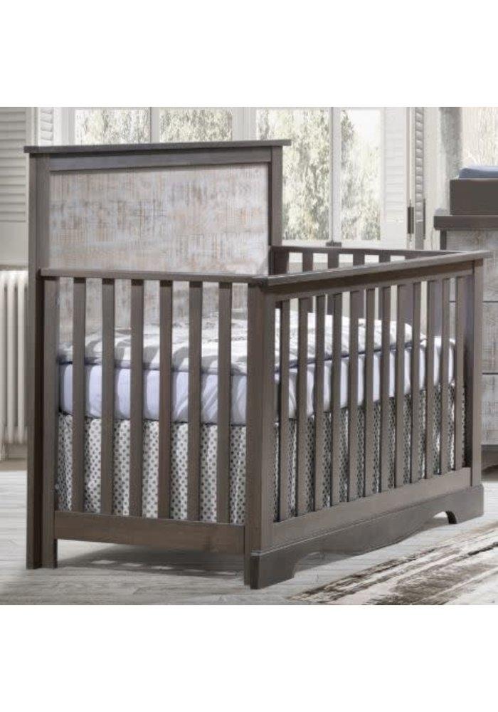 Nest Juvenile Matisse Collection Convertible Crib In Grigio/ White bark