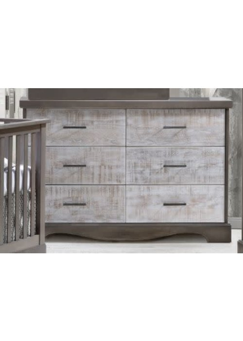 Nest Juvenile Nest Juvenile Matisse Collection Double Dresser In Grigio/White bark