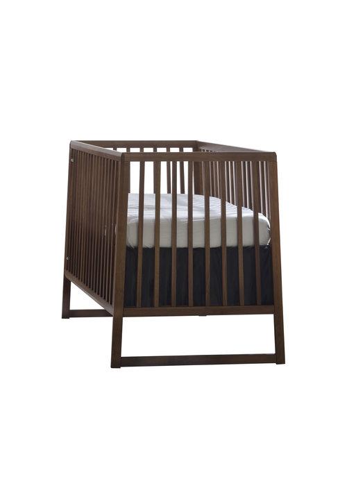 Natart Natart Juvenile Rio Classic Crib In Walnut