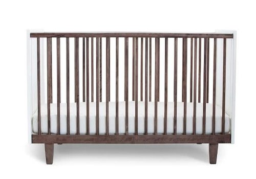 Oeuf Oeuf Arbor Crib In White/Walnut
