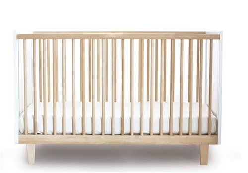 Oeuf Oeuf Arbor Crib In White/Birch