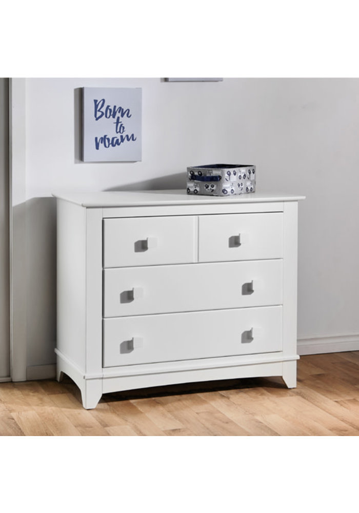 Pali Furniture Spessa Dresser In White