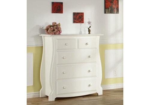 Pali Furniture Pali Furniture Bergamo 4 Drawer Dresser In White