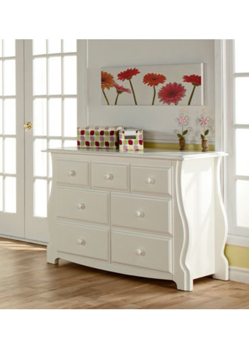 Pali Furniture Pali Furniture Bergamo Double Dresser In White