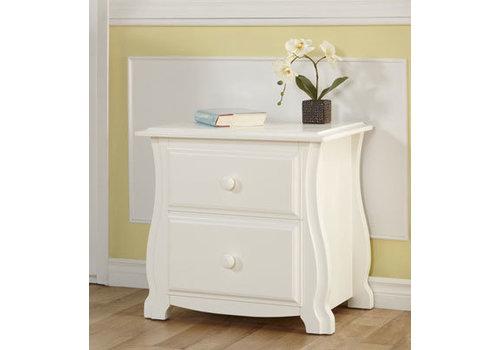 Pali Furniture Pali Furniture Bergamo Nightstand In White