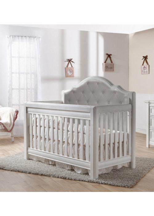 Pali Furniture Pali Furniture Cristallo Forever Crib In Vintage White With Grey Vinyl