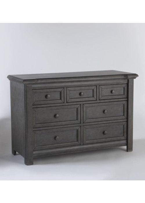 Pali Furniture Pali Furniture Cristallo Double Dresser In Granite
