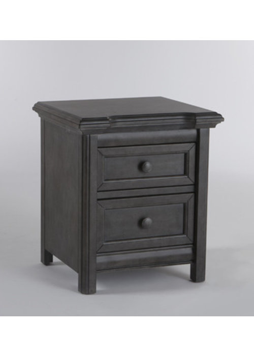 Pali Furniture Pali Furniture Cristallo Nightstand In Distressed Granite