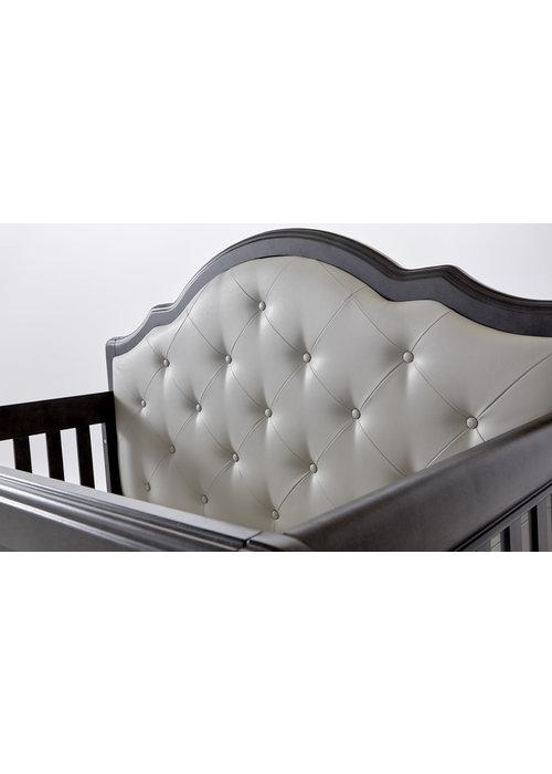 Pali Furniture Pali Furniture Cristallo Forever Crib In Granite With Grey Vinyl