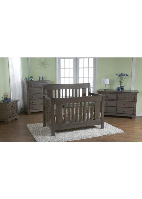 Pali Furniture Pali Furniture Emilia Forever Sleigh Crib In Slate