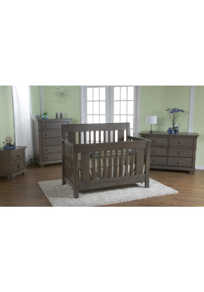 Pali Furniture Emilia Forever Sleigh Crib In Slate