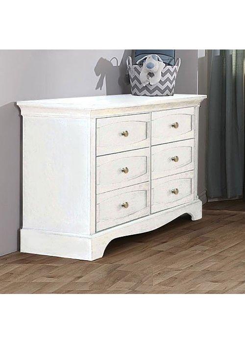 Pali Furniture Pali Furniture Ragusa/Enna Double Dresser In Vintage White