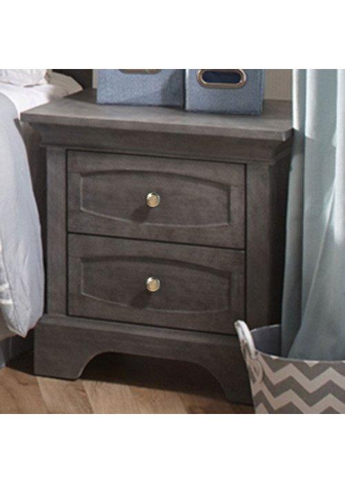 Pali Furniture Pali Furniture Ragusa/Enna Night Stand In Distressed Granite