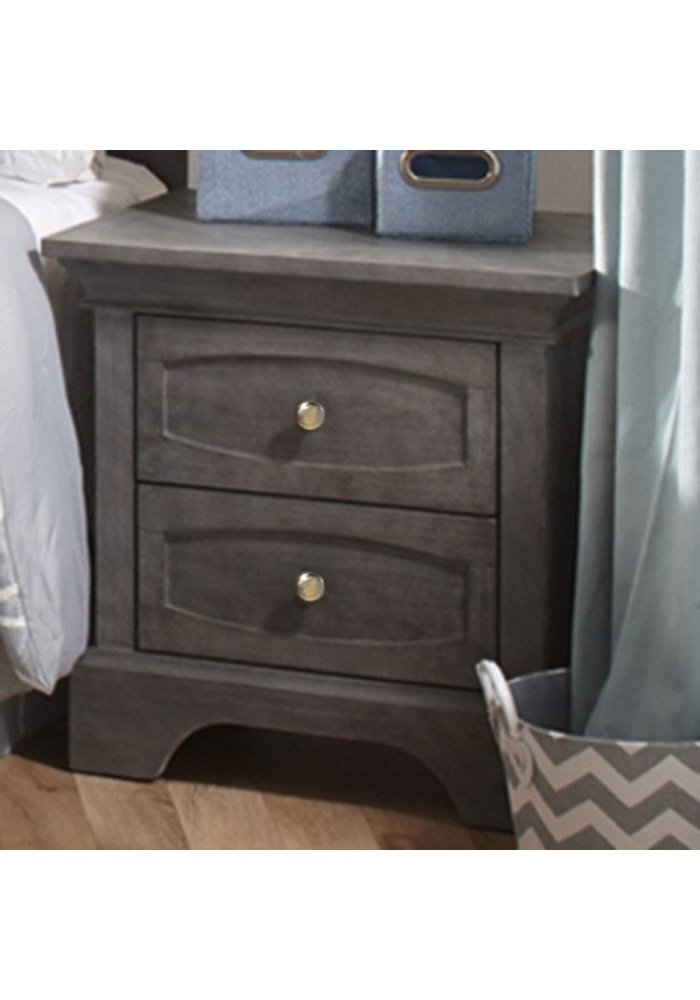 Pali Furniture Ragusa/Enna Night Stand In Distressed Granite