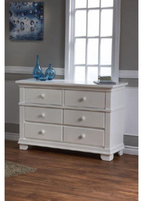 Pali Furniture Pali Furniture Torino/Biella/Lucca Double Dresser In White