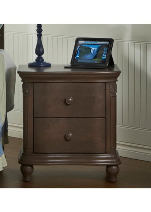 Pali Furniture Pali Furniture Gardena Nightstand In Slate