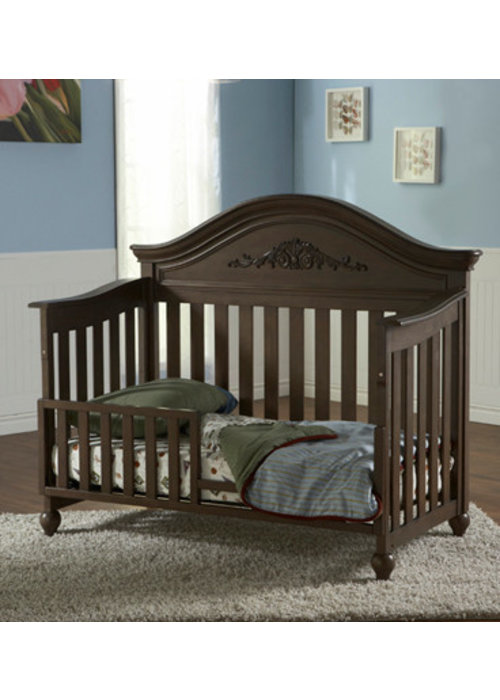 Pali Furniture Pali Furniture Gardena Toddler Rail In Slate