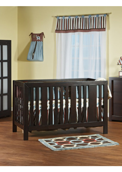 Pali Furniture Pali Furniture Imperia Forever Crib In Mocacchino