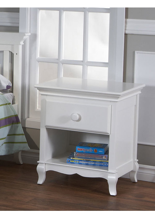 Pali Furniture Pali Furniture Mantova Night Stand In White