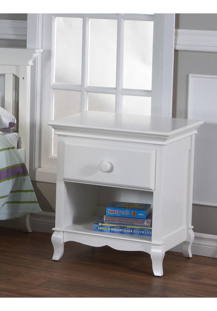 Pali Furniture Mantova Night Stand In White