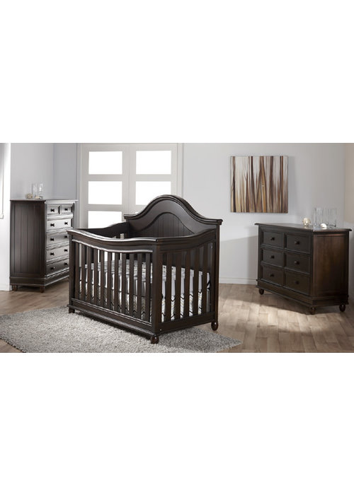 Pali Furniture Pali Furniture Marina Forever Crib In Onyx