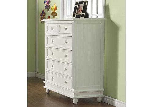 Pali Furniture Pali Furniture Marina 5 Drawer Dresser In White