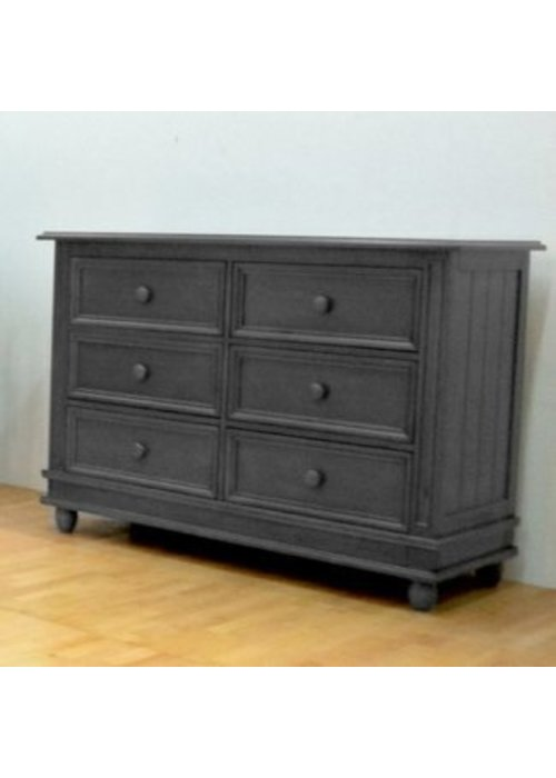 Pali Furniture Pali Furniture Marina Double Dresser In Slate