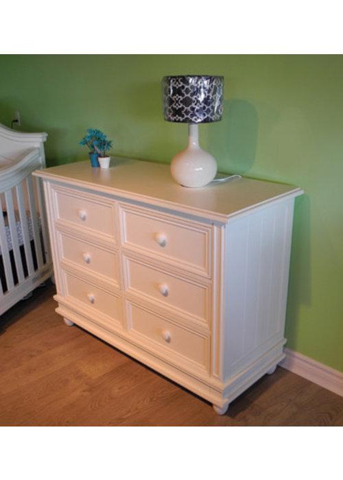 Pali Furniture Pali Furniture Marina Double Dresser In White