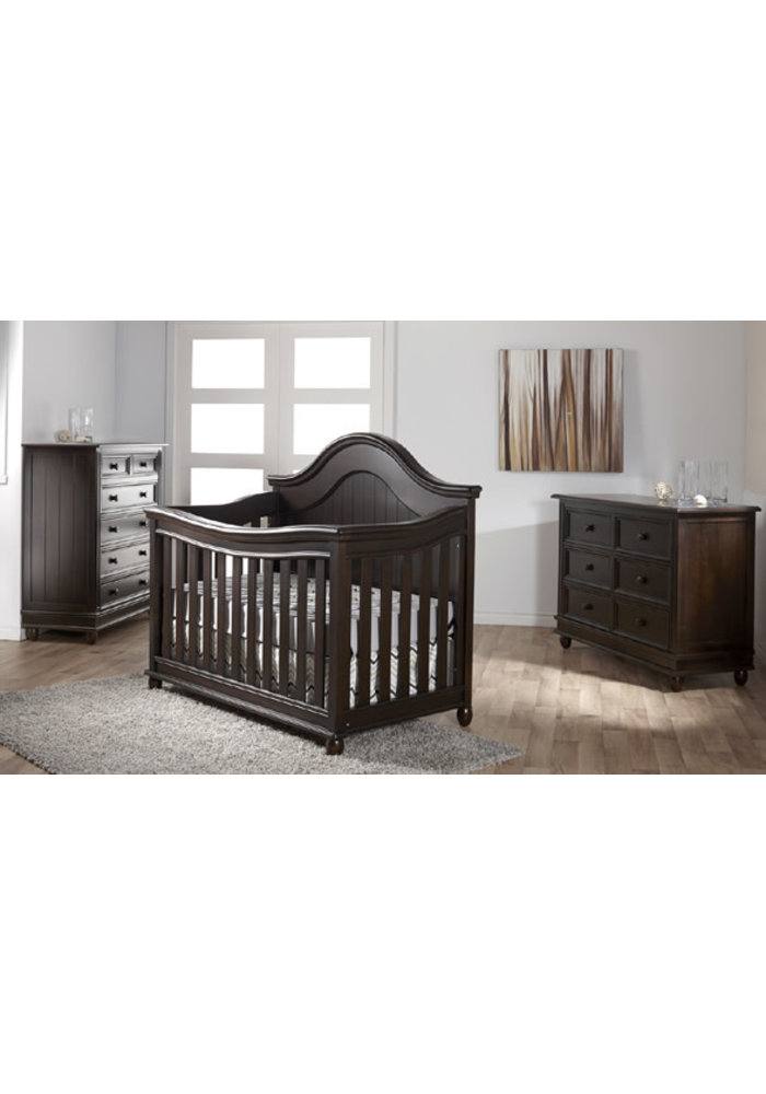 Pali Furniture Marina Forever Crib In Onyx
