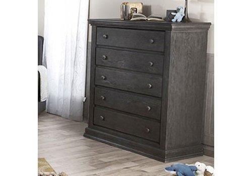 Pali Furniture Pali Furniture Modena 5 Drawer Dresser In Distressed Granite