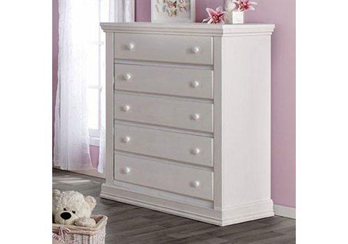 Pali Furniture Pali Furniture Modena 5 Drawer Dresser In Vintage White