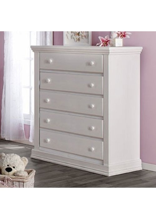 Pali Furniture Pali Furniture Modena 5 Drawer Dresser In Vintage White