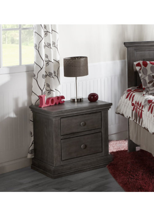 Pali Furniture Pali Furniture Modena Night Stand In Distressed Granite