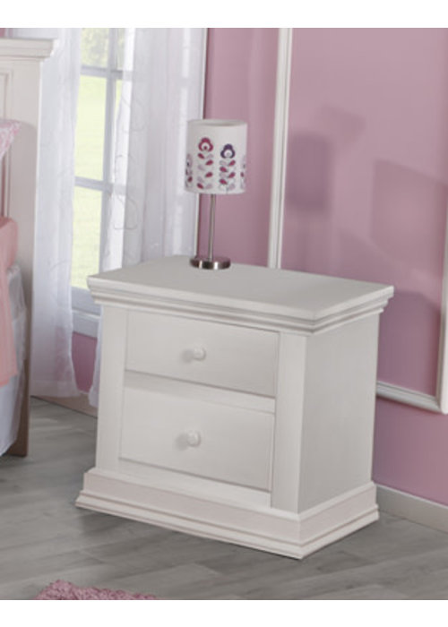 Pali Furniture Pali Furniture Modena Night Stand In Vintage White