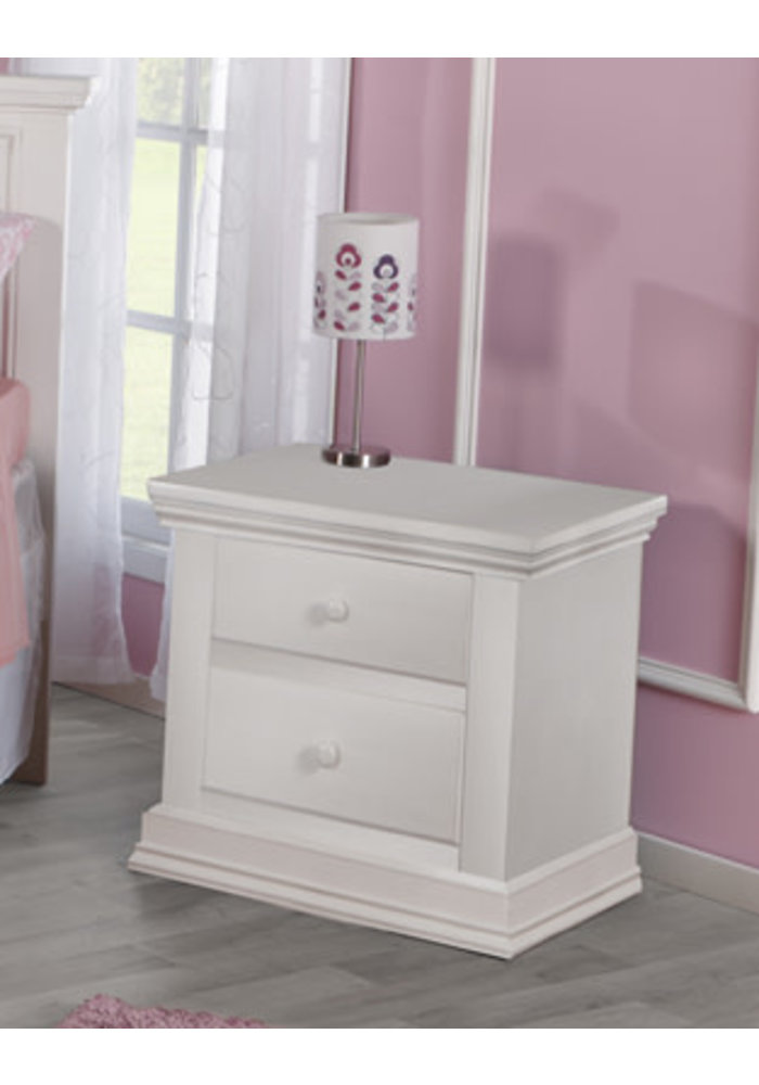Pali Furniture Modena Night Stand In Vintage White