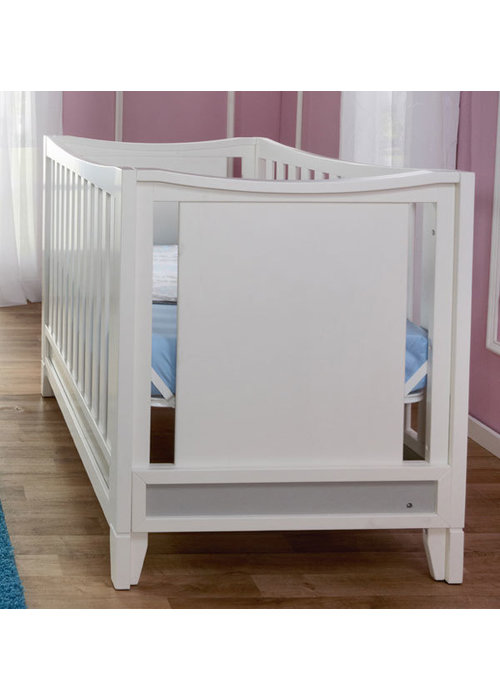 Pali Furniture Pali Furniture Treviso Crib In White-Grey