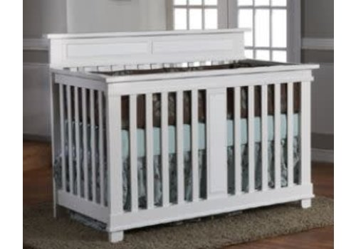 Pali Furniture Pali Furniture Torino Forever Crib In Bright White