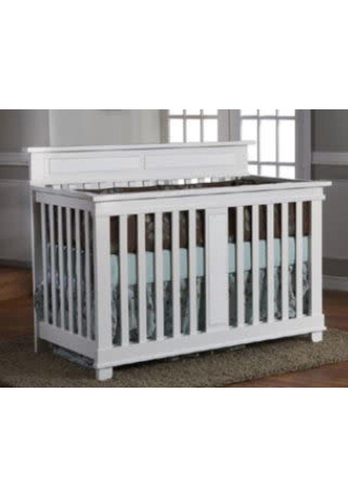 Pali Furniture Torino Forever Crib In Bright White