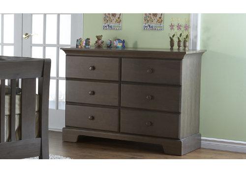 Pali Furniture Pali Furniture Volterra Double Dresser In Slate