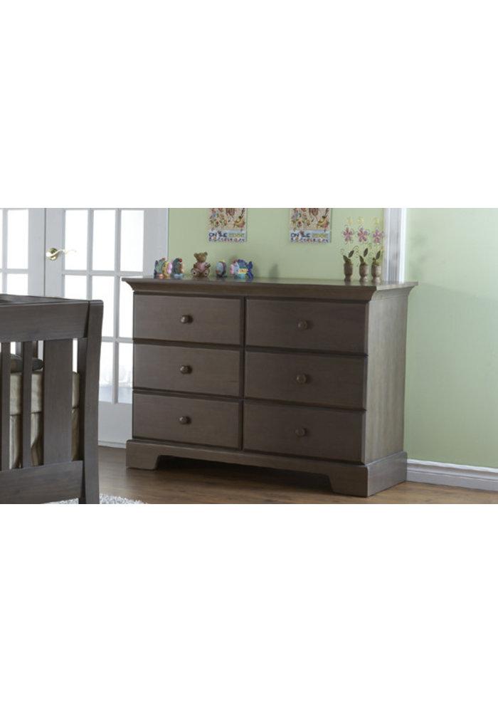 Pali Furniture Volterra Double Dresser In Slate