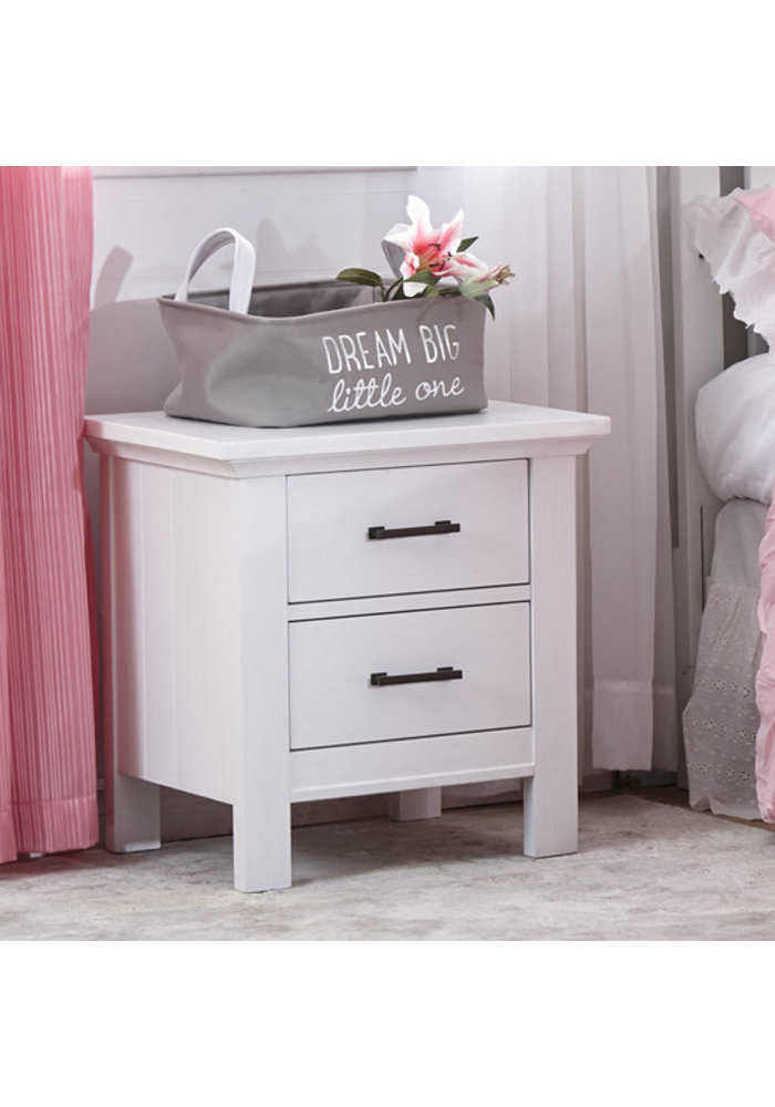 Pali Furniture Como Night Stand In Vintage White