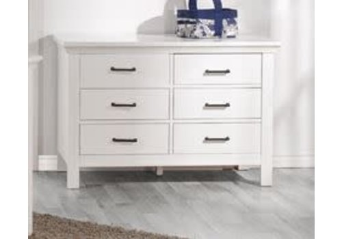 Pali Furniture Pali Furniture Como Double Dresser In Vintage White