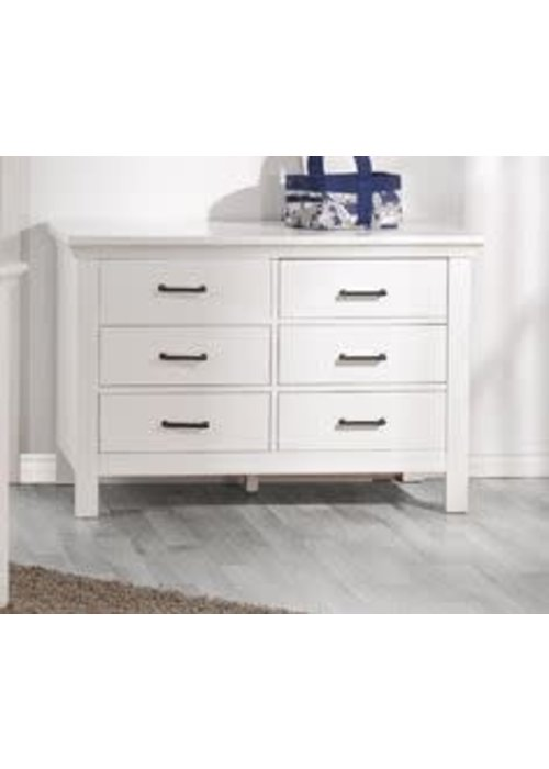 Pali Furniture Pali Furniture Como Double Dresser In Vintage White