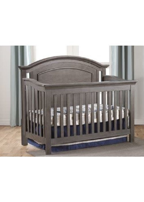 Pali Furniture Pali Furniture Como Arch Crib In Distressed Granite