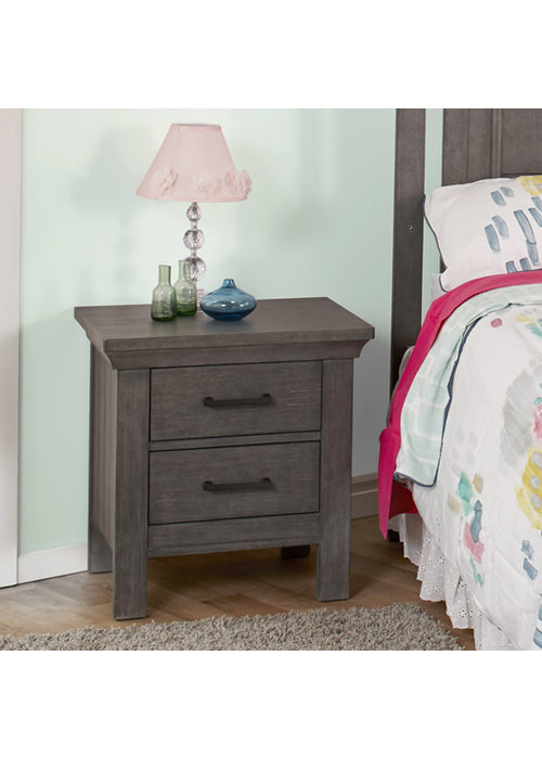 Pali Furniture Pali Furniture Como Night Stand In Distressed Granite