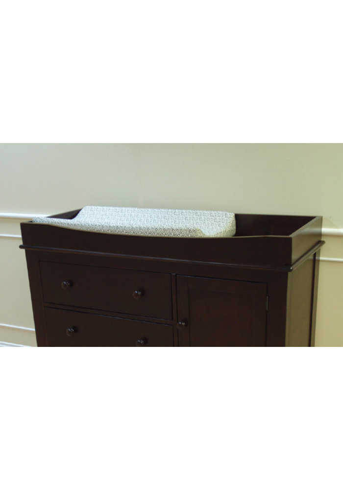 Pali Furniture Galley Rail (Changing Tray) In Mocacchino