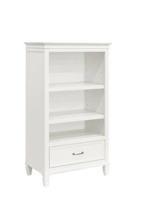 Million Dollar Baby Million Dollar Darlington Bookcase in Warm White