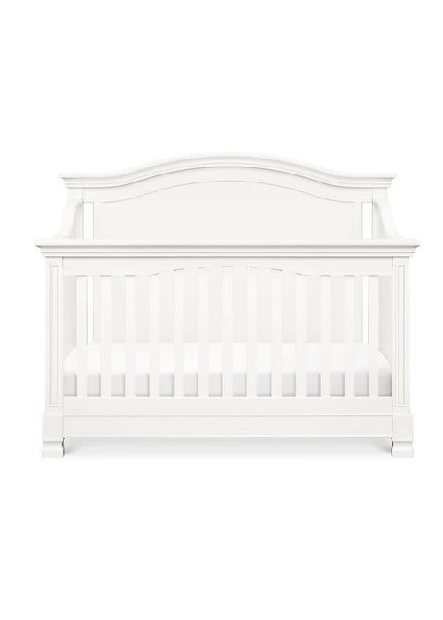 Million Dollar Baby Million Dollar Baby Louis 4-in-1 Convertible Crib with Toddler Bed Conversion Kit In Warm White