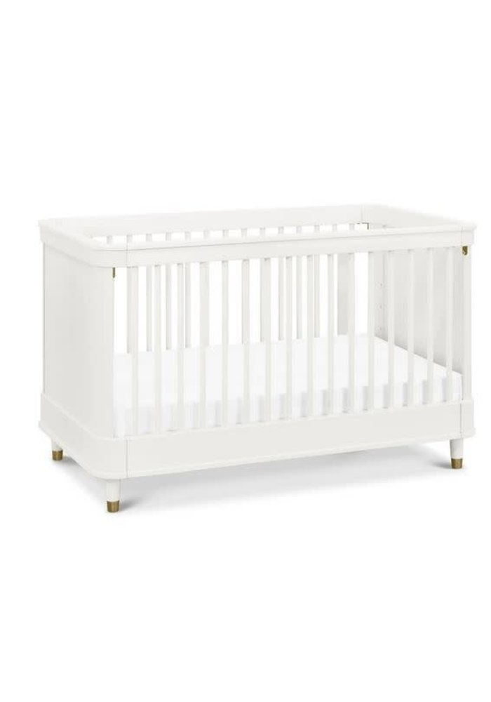 Million Dollar Baby Tanner 3 In Convertible Crib In Warm White