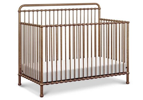 Million Dollar Baby Million Dollar Baby Winston Crib In Vintage Gold